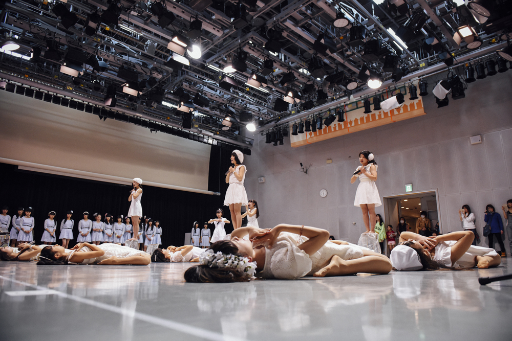 「2015 SPRING ACT」リハーサルの様子